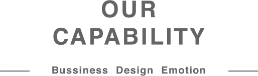 OUR CAPABILITY — Bussiness Design Emotion